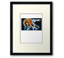 Clockwork Orange graphic tee Framed Print