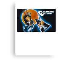 Clockwork Orange graphic tee Canvas Print