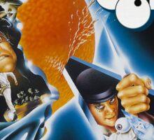 Clockwork Orange graphic tee Sticker