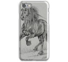 WOBKE 403 SPORT FRIESIAN STALLION iPhone Case/Skin