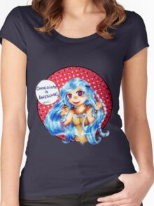 BEM: Chocolate is Awesome!  Women's Fitted Scoop T-Shirt