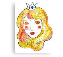 Mint Peach  Canvas Print