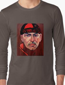 Tim McKew, Cabaret Artist - original oil painting on Jarrah Long Sleeve T-Shirt