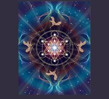 Metatron's Cube - Merkabah - Peace and Balance Unisex T-Shirt