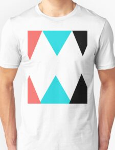 Colorful Arrows (Red, Blue and Black) T-Shirt