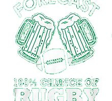 RUGBY BEER by HotTShirts