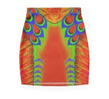 Red Mantis Shrimp Mini Skirt