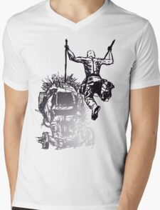 Jump - Sketch Mens V-Neck T-Shirt
