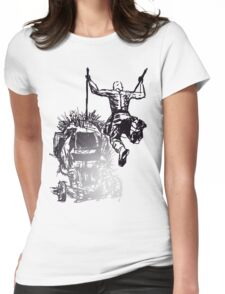 Jump - Sketch Womens Fitted T-Shirt