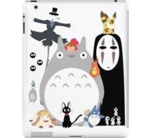 gang Ghibli studio iPad Case/Skin