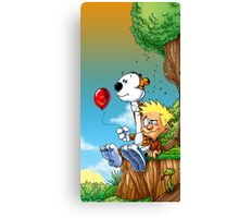 calvin ball hobbes Canvas Print