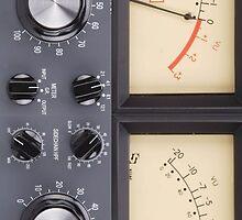 Vintage VU Meter by kabeljack