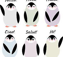 Happy pinguins  by EkaterinaP