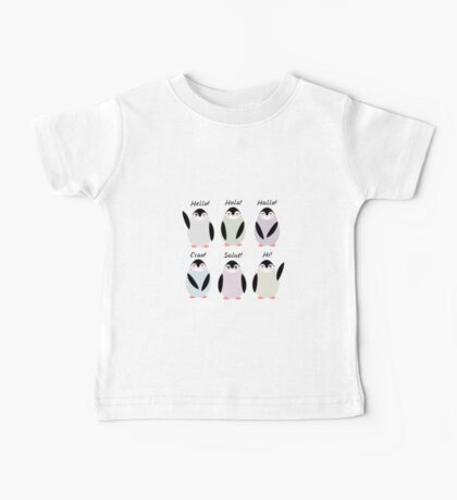 Happy pinguins  Baby Tee