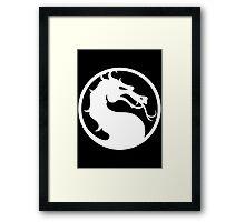 Mortal Kombat-Fight Framed Print