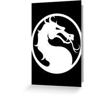 Mortal Kombat-Fight Greeting Card