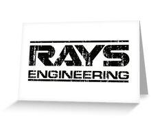 Rays Engineering Greeting Card