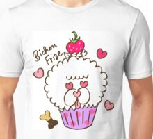 Bichon Frise Cupcake Unisex T-Shirt