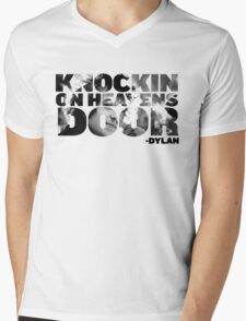 Boby Dylan - Knockin on heavens door Mens V-Neck T-Shirt