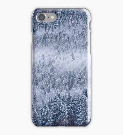 Frozen forests iPhone Case/Skin