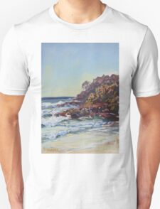Southern end of Rainbow beach at dusk T-Shirt
