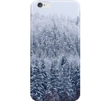 Frozen forest iPhone Case/Skin
