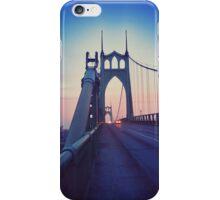 St Johns Bridge South 2 iPhone Case/Skin