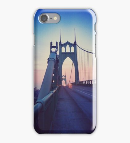 St Johns Bridge South 2 iPhone Case/Skin