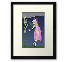 Nature and Storms Fairy - (Designs4You) Framed Print