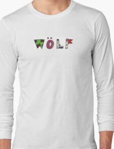 Golf Wang Wolf Sketch Long Sleeve T-Shirt