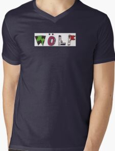 Golf Wang Wolf Sketch Mens V-Neck T-Shirt