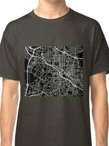 Durham Map - Black Classic T-Shirt