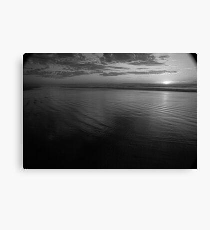 Ocean Beach Sunset, West Coast Tasmania 3 Canvas Print