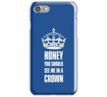 Sherlock Moriarty See me in a crown iPhone Case/Skin