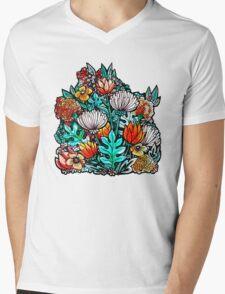 Spider Mum Garden Mens V-Neck T-Shirt