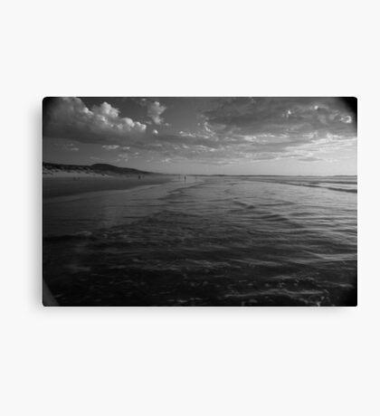 Ocean Beach Sunset, West Coast Tasmania 6 Canvas Print