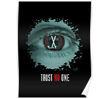 X eyes trust no one Poster