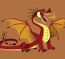 Lesser Fire Dragon by Jennifer-Smith