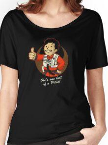 Fighter Pilot Boy Women's Relaxed Fit T-Shirt