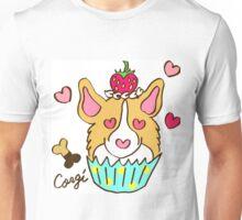 Corgi Cupcake Unisex T-Shirt
