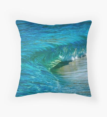 Shades of Blue and Green... Throw Pillow