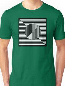 Line Optical Illusion Unisex T-Shirt