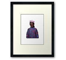 Queen Wiener Framed Print