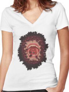 gag Women's Fitted V-Neck T-Shirt