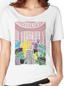 Cacti & Succulent Greenhouse Women's Relaxed Fit T-Shirt