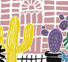 Cacti & Succulent Greenhouse Sticker