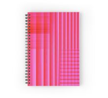 Pink Bookshelf Spiral Notebook