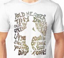 Tiny Dancer in Green Unisex T-Shirt