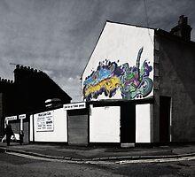 Graffiti Cafe by Nigel Bangert