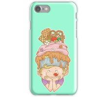 Cupcake on Top of My Head iPhone Case/Skin